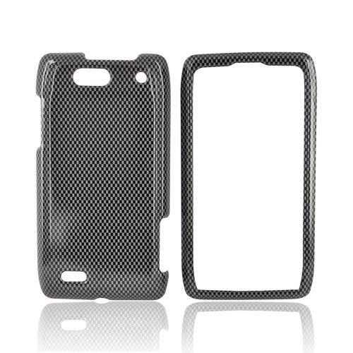 Motorola Droid 4 Hard Case - Carbon Fiber