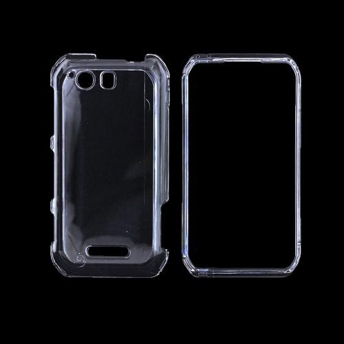 Motorola Photon Q 4G LTE Hard Case - Transparent Clear