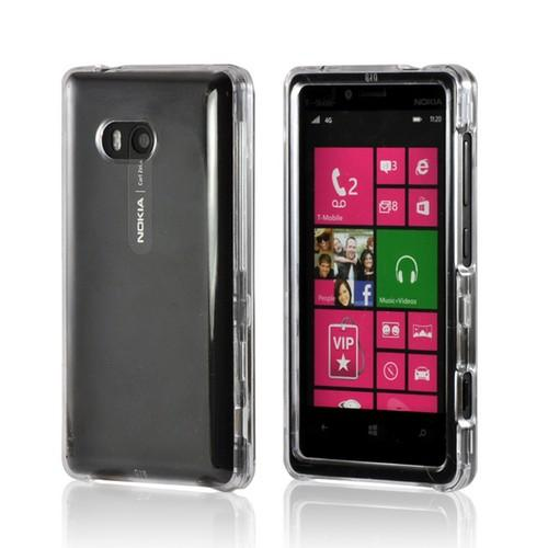 Transparent Clear Hard Case for Nokia Lumia 810