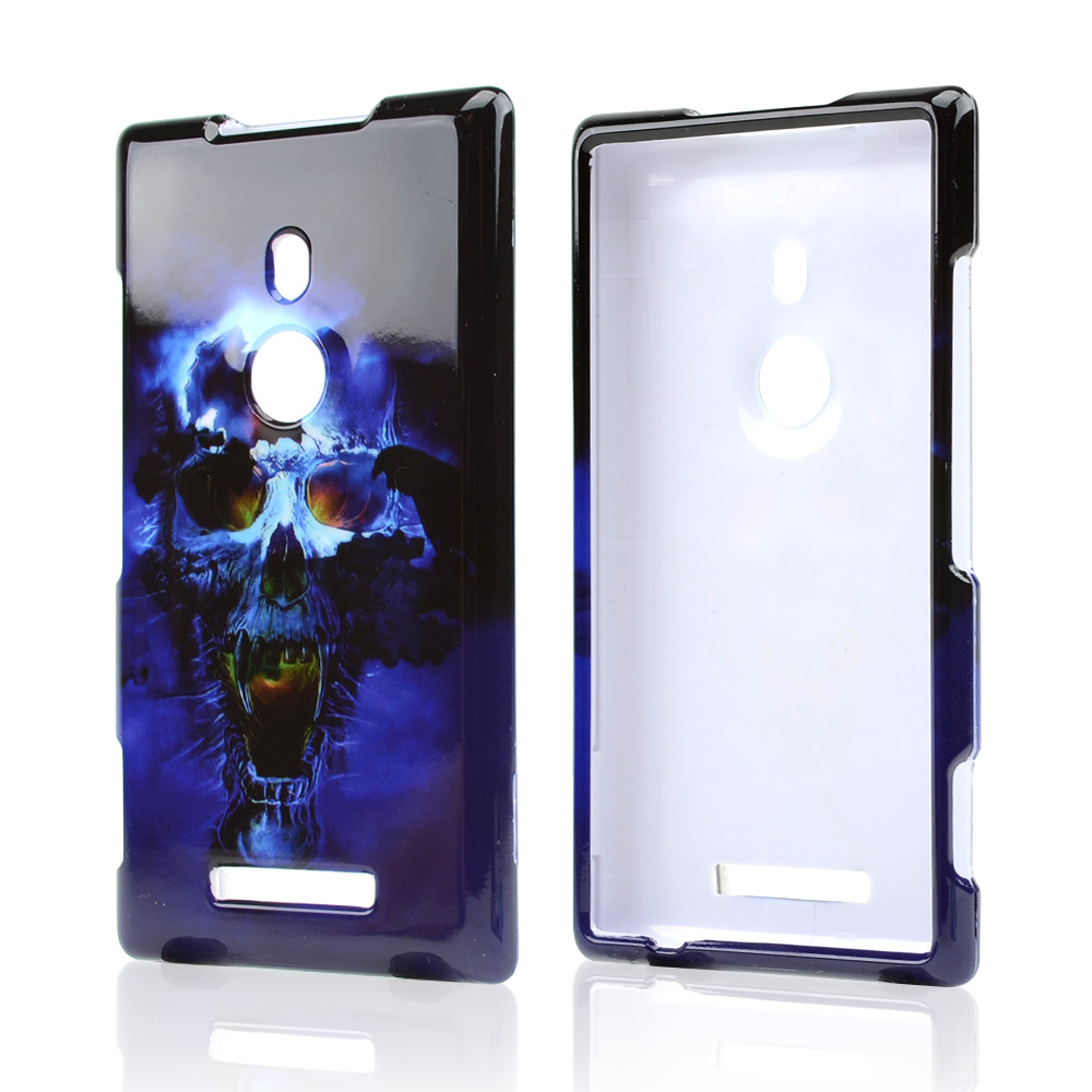 Blue Skull Hard Case for Nokia Lumia 925