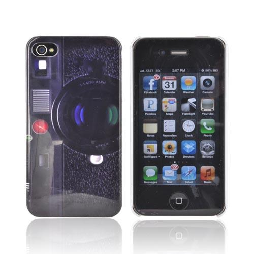 AT&T/ Verizon Apple iPhone 4, iPhone 4S Hard Case - Old-Fashioned Camera
