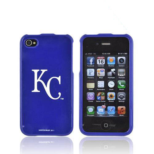 MLB AT&T/ Verizon Apple iPhone 4, iPhone 4S Hard Case - Kansas City Royals