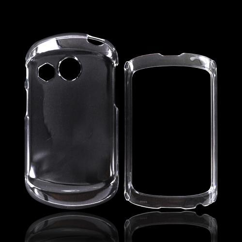 Pantech Swift Hard Case - Transparent Clear
