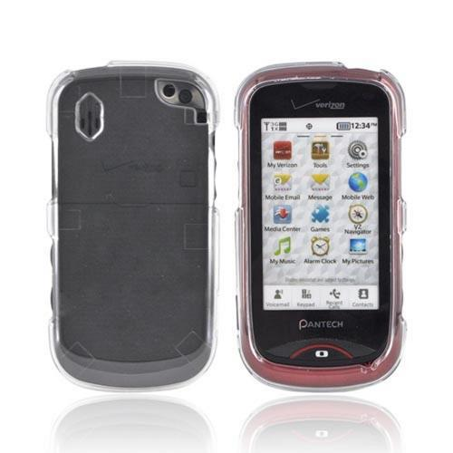 Pantech Hotshot Hard Case - Clear