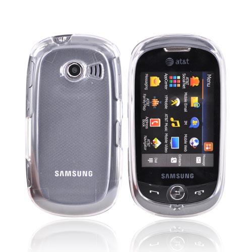 Samsung Flight II A927 Hard Case - Transparent Clear