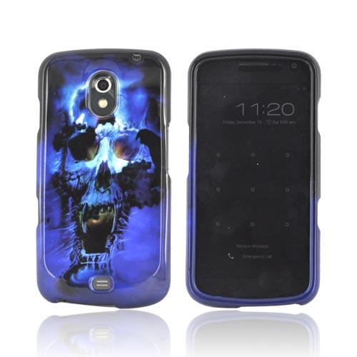 Samsung Galaxy Nexus Hard Case - Blue Skull