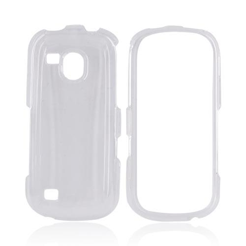 Samsung Continuum i400 Hard Case - Transparent Clear