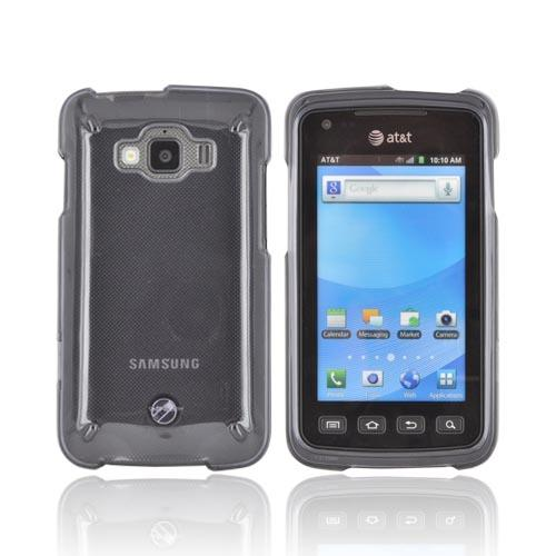 Samsung Rugby Smart i847 Hard Case - Transparent Smoke