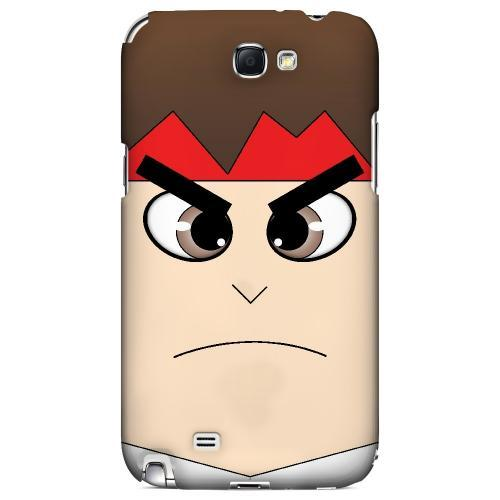 Hadoryu - Geeks Designer Line Toon Series Hard Case for Samsung Galaxy Note 2