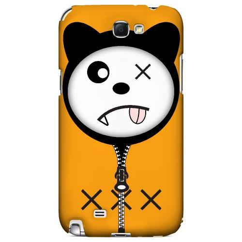 XXX - Geeks Designer Line Hoodie Kitty Series Hard Case for Samsung Galaxy Note 2