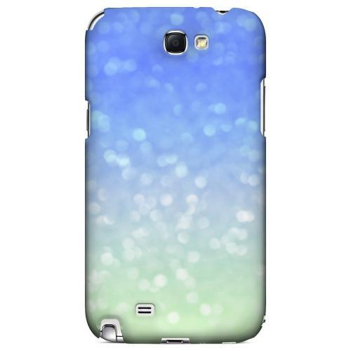 Menthe Blue - Geeks Designer Line Ombre Series Hard Case for Samsung Galaxy Note 2