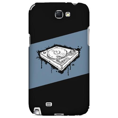 Wheel of Steel Blue - Geeks Designer Line Music Series Hard Case for Samsung Galaxy Note 2