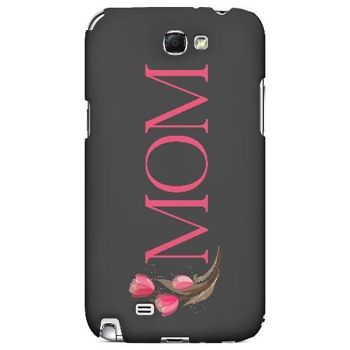 Tulips Mom - Geeks Designer Line Mom Series Hard Case for Samsung Galaxy Note 2