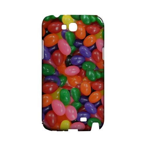 Assorted Jelly Beans Geeks Designer Line Candy Series Slim Hard Back Cover for Samsung Galaxy Note 2