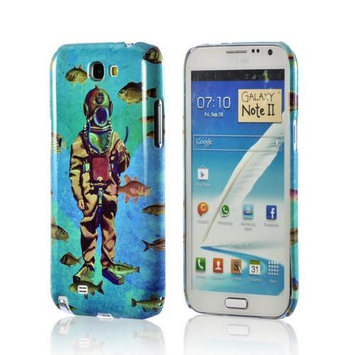 Bloop Bloop Americana Nostalgia Series Ultra Slim Hard Case for Samsung Galaxy Note 2 Geeks Designer Line
