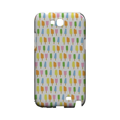 Assorted Popsicles Geeks Designer Line Candy Series Slim Hard Back Cover for Samsung Galaxy Note 2