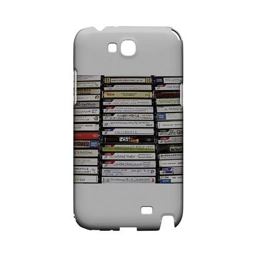 VHS - Geeks Designer Line (GDL) Retro Series Hard Back Cover for Samsung Galaxy Note 2