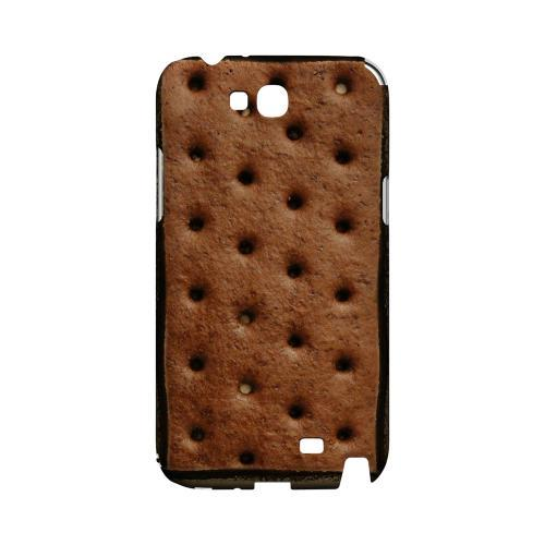 Ice Cream Sandwich Geeks Designer Line Candy Series Slim Hard Back Cover for Samsung Galaxy Note 2