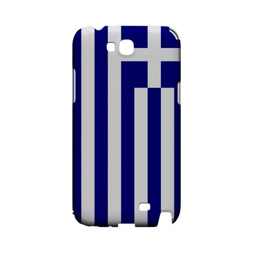 Greece Geeks Designer Line Flag Series Slim Hard Case for Samsung Galaxy Note 2