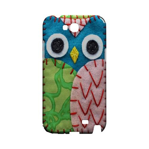 Blue/ Green Owl Geek Nation Program Exclusive Jodie Rackley Series Hard Case for Samsung Galaxy Note 2