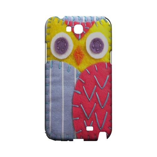 Yellow/ Pink Owl Geek Nation Program Exclusive Jodie Rackley Series Hard Case for Samsung Galaxy Note 2