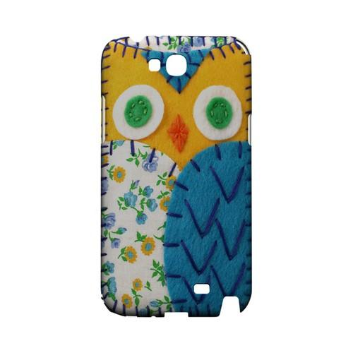 Gold/ Blue Owl Geek Nation Program Exclusive Jodie Rackley Series Hard Case for Samsung Galaxy Note 2