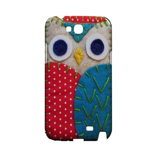 White/ Blue Owl Geek Nation Program Exclusive Jodie Rackley Series Hard Case for Samsung Galaxy Note 2