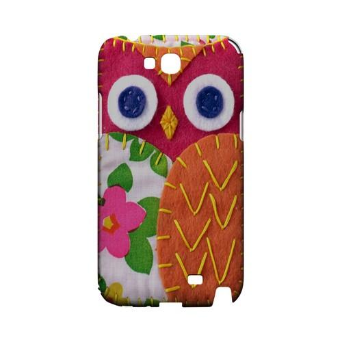 Hot Pink/ Green Owl Geek Nation Program Exclusive Jodie Rackley Series Hard Case for Samsung Galaxy Note 2