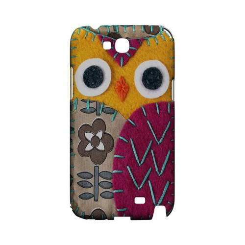Yellow/ Purple Owl Geek Nation Program Exclusive Jodie Rackley Series Hard Case for Samsung Galaxy Note 2