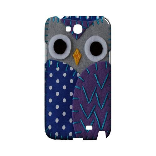 Gray/ Purple Owl Geek Nation Program Exclusive Jodie Rackley Series Hard Case for Samsung Galaxy Note 2