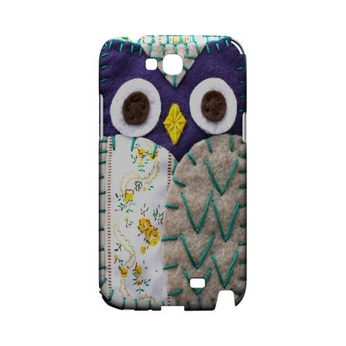 Blue/ Gray Owl Geek Nation Program Exclusive Jodie Rackley Series Hard Case for Samsung Galaxy Note 2