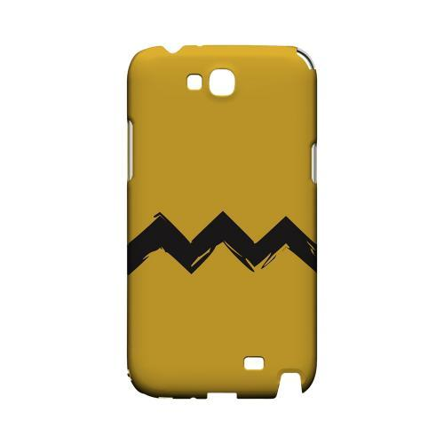 Yellow Good Grief! Geeks Designer Line Zig Zag Series Slim Hard Case for Samsung Galaxy Note 2