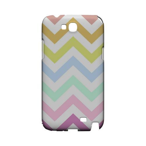 Pastel on White Geeks Designer Line Zig Zag Series Slim Hard Case for Samsung Galaxy Note 2