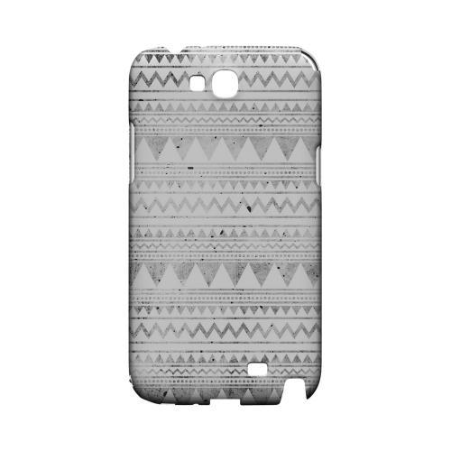 Grungy Triangles Geeks Designer Line Zig Zag Series Slim Hard Case for Samsung Galaxy Note 2