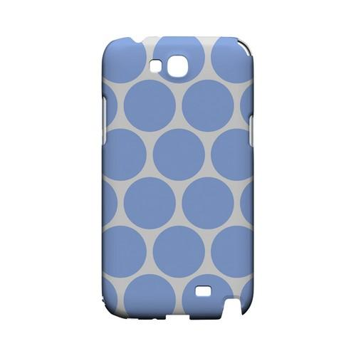 Big & Sky Blue Geeks Designer Line Polka Dot Series Slim Hard Case for Samsung Galaxy Note 2