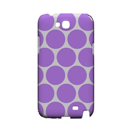 Big & Purple Geeks Designer Line Polka Dot Series Slim Hard Case for Samsung Galaxy Note 2