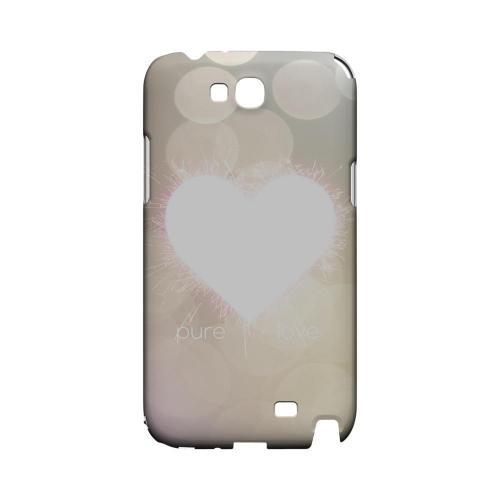 Pure Love Geeks Designer Line Heart Series Slim Hard Case for Samsung Galaxy Note 2