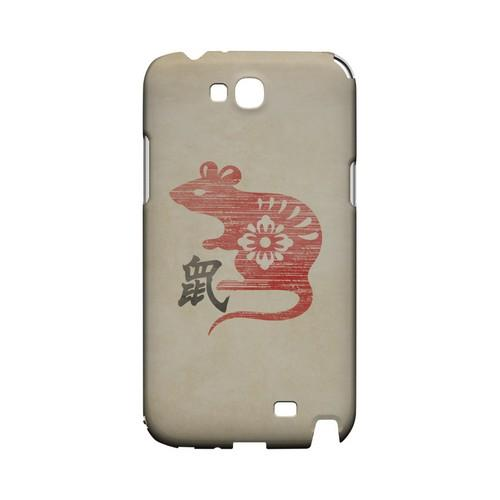 Grunge Rat Geeks Designer Line Chinese Horoscope Series Slim Hard Case for Samsung Galaxy Note 2