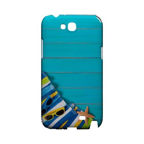 Decked Out Geeks Designer Line Beach Series Slim Hard Case for Samsung Galaxy Note 2