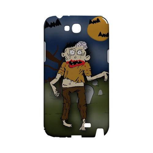 Zombie in Graveyard - Geeks Designer Line (GDL) Monster Mash Series Hard Back Cover for Samsung Galaxy Note 2