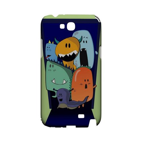 ZORGBLATS on Purple - Geeks Designer Line (GDL) Monster Mash Series Hard Back Cover for Samsung Galaxy Note 2
