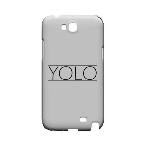 Modern YOLO - Geeks Designer Line YOLO Series Hard Case for Samsung Galaxy Note 2
