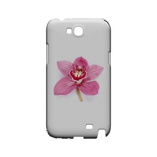 Single Pink Orchid Flower - Geeks Designer Line Floral Series Hard Case for Samsung Galaxy Note 2