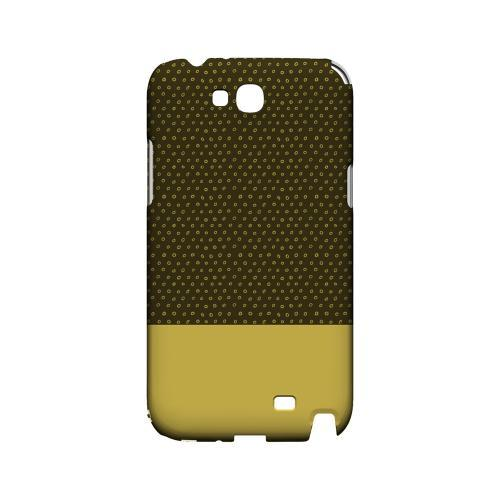 Little Circle Dots Lemon Zest - Geeks Designer Line Pantone Color Series Hard Case for Samsung Galaxy Note 2