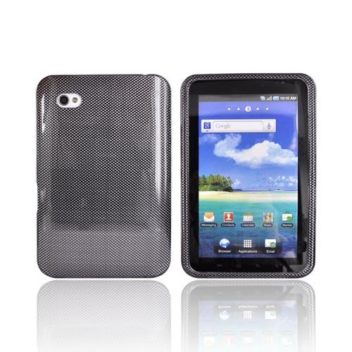 Samsung Galaxy Tab P1000 Hard Case - Carbon Fiber