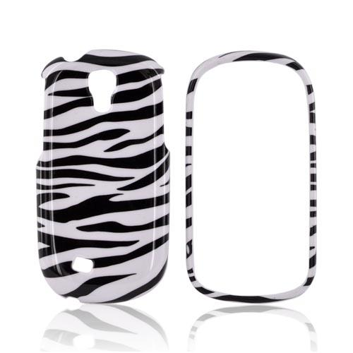 Samsung Gravity Smart Hard Case - Black/ White Zebra
