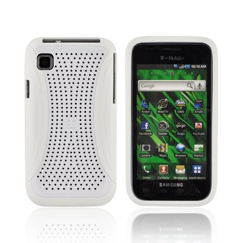 Samsung Vibrant T959 Hard Case - Xmatrix White