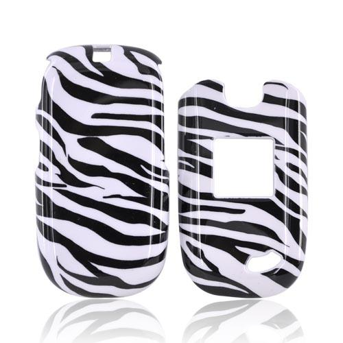 ZTE Captr II A210 Hard Case - Black/White Zebra