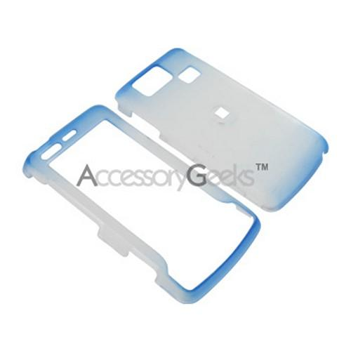 LG Versa Icy Hard Case - Blue/Clear