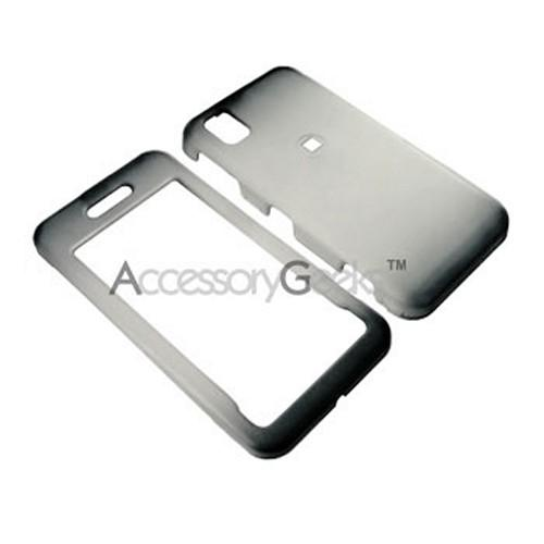 Samsung Finesse R810 Icy Hard Case - Black/Clear
